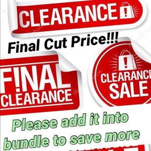 🔥CLEARANCE🔥❣️SALE❣️